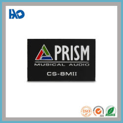 Custom Design Colorfull Printing Aluminium Logo Metal Label name Tag