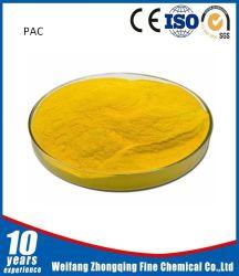 Poli cloruro di alluminio PAC della polvere gialla per il trattamento delle acque