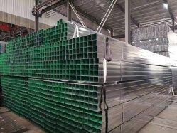 4X4 de 1 pulgadas puestos valla metálica de tubo de hierro galvanizado cuadrado