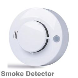 Commerce de gros d'alarme du détecteur de fumée avec le réseau de sortie de relais/LED indiquant l'alarme