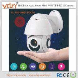 IP Camera van de Lens PTZ van de Veiligheid WiFi van de Camera de Infrarode Draadloze vari-Brandpunts