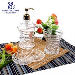 أواني زجاجية Garbo 3PCS زجاجة زجاجية مع مجموعة نظارات (GB27067BK)