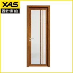 La decoración de la construcción aislamiento térmico de aluminio de Foshan Casement puerta para wc interior