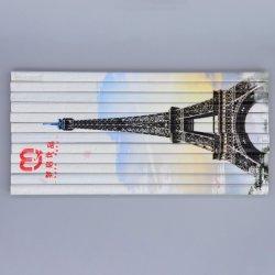 Acções de promoção e publicidade Eco-Friendly lápis de cor de madeira retangular com quebra-cabeças de impressão