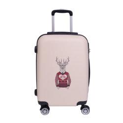 Impreso de alta calidad de equipaje de viaje ABS Maletín