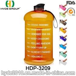 Sin BPA 1.3L // 2.2L 3.78L Jarra PETG Botella de agua de plástico (HDP-3209)
