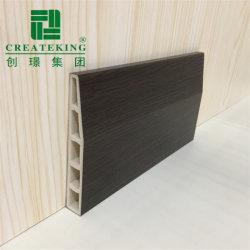 Fácil de instalar Createking Water-Proof bordeando el piso de PVC de 10cm