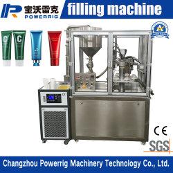 Ampliamente utilizado Semiautomática de llenado de cosméticos de equipos de sellado con SGS y la certificación CE