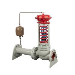 연결 플랜지 및 고온 기능이 있는 자체 작동식 제어 밸브