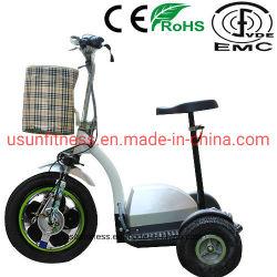 A dobragem três rodas Scooter Elétrica Triciclo Scooter de Mobilidade Elevadores eléctricos de aluguer para Adulto
