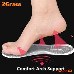 Силиконовый гель 3/4 колесной арки поддержки внутренняя подошва для сокращения для создания женских высоким каблуком башмака