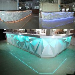 Última Diamond Design para Night Club Bar Counter Contador de Barra de LED e mesa