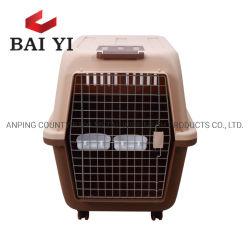 Carrier van de Hond van de Manier van de Kooi van het Huisdier van de Producten van het Huisdier van de douane de Draagbare Plastic