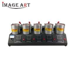 Quaff 5 Estación de trabajo de transferencia de calor Fahrenheit 5en1 Taza Pulse la máquina para la impresión de sublimación