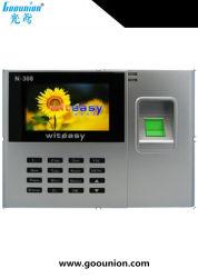 Biometrische Fingerabdruck-Zeit-Stempeluhr mit wahlweise freigestelltem GPRS WiFi