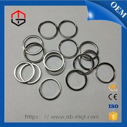 NdFeB permanentes personalizados/anillo de neodimio imán con RoHS