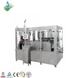 Puede el jugo de fruta Zumo Concentrado CSD Bebidas Gaseosas bebidas Agua Mineral de llenado de líquido Envasado Etiquetado sellado/paquete máquina