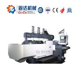 Plaque de la machine de fraisage CNC Fanuc Syetem bon marché machine CNC de la machine en acier spécial double tête d'outils de la machine
