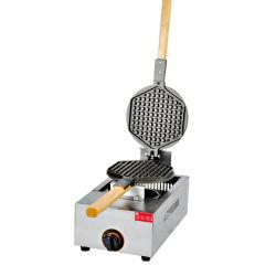 ガスの香港の卵のワッフルメーカーの泡ワッフル機械/Waffleの円錐形メーカー