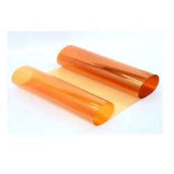 Wasserdichte orange Farbe Plastik-Belüftung-Film für Fenster-Dekoration