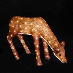 Хорошая цена для использования вне помещений LED Рождество декоративного оленеводства стиле фонари