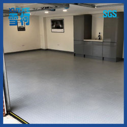 De plástico de PVC piso de carpete Non-Slip fácil de limpar o tapete de garagem para o carro