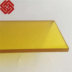 Hoja de sólido policarbonato balcón techado para material de revestimiento