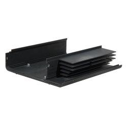 Personalizar perfil de aluminio mecanizado CNC de radiador/Mecanizados/Machienry partes