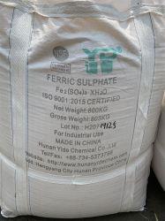 Solfato ferrico del ferro di prezzi bassi di qualità per l'agente di trattamento delle acque