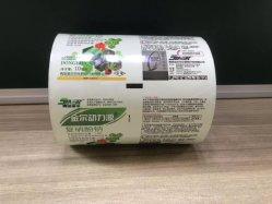 Imprimé à bon marché de gros BOPP/RPC métallisé de contrecollage l'Emballage Alimentaire Rouleaux de film en plastique