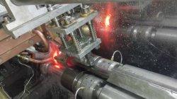 Supersonic el calentamiento por inducción de la máquina para el eje de la calefacción de templado de endurecimiento en línea