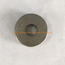 Forgée en acier inoxydable roue dentée avec usinage CNC