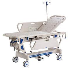 Xf182 ABS d'urgence manuel Chariot brancard chariot patient civière pour la vente d'ambulance;
