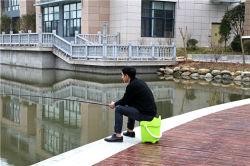 Plastikdusche-Sitze, Schuh-Schemel-Fischen-Schemel der kleinen Plastikkinder
