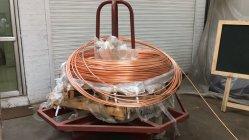 Attrezzatura di produzione di rame del Rod Copper Espulsione continua Machine&#160 sbarra collettrice della piccola e del collegare;