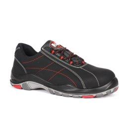 S3 de cuero Industrial hombres/mujeres Zapatos de seguridad Calzado de Seguridad Calzado de trabajo con certificado CE PU y suela de goma (SN5847)