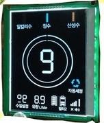 وحدة شاشة LCD للإضاءة الخلفية باللون الأسود LCM