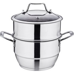 Commerce de gros de la soupe en acier inoxydable pot pot de la cuisine cuisine Cuiseur vapeur