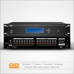 L'audio numérique avec écran LCD à matrice lpq-132