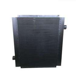 Placa de alumínio personalizado do arrefecedor de óleo do permutador de calor para máquinas de construção
