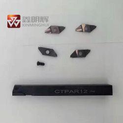 Strumento per tornitura Indexable della macchina di CNC del carburo dell'utensile speciale di alta precisione per il taglio
