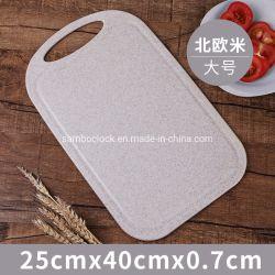Hacher la paille de blé en plastique durable les planches à découper de cuisine