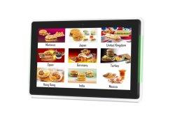 10.1pouces HD écran tactile à montage mural avec Android Système de signalisation numérique