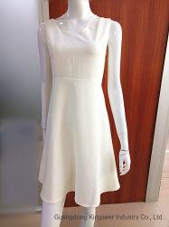Amazon 2020 Nueva moda chica de la Falda elegancia Damas de Blanco algodón Poliéster Parte sexy vestido de mujer hermosa ropa de diseñador