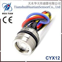 Cyx-12 12.6mm 실리콘 석유로 가득한 Piezoresistive 압력 센서