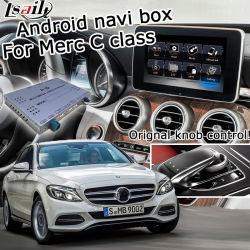 Sistema de navegación GPS Android Lsailt de Mercedes Benz Clase C W205 Ntg 5.0 Video Audio Interface Control20