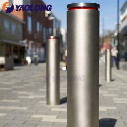 Commerce de gros poteau décoratifs énorme barrière de contrôle des foules en acier inoxydable