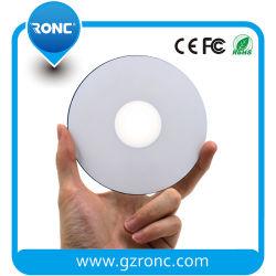 CD imprimables jet d'encre de couleur blanc prix de gros DVD CD vierge