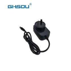 La fabbrica vende il caricatore dell'adattatore 12W di potere dell'Au 5V per il video senza fili della macchina fotografica del Digital Equipment dei piccoli apparecchi