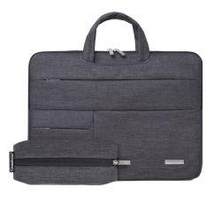 Viagens de negócios de mão de poliéster Notebook portátil tablet PC iPad na maleta Saco de carteira a luva (CY9835)